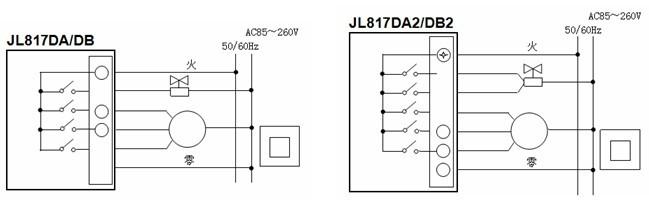 电动阀的控制:当室温与设置温度相差1℃时,打开电动阀;当室温达到设置图片