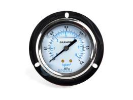 嘉禾埋入式油压表-单刻度 Φ60-0.6 1/4接头